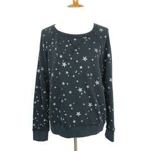 Joie Edrie Star And Moon Print Sweatshirt S